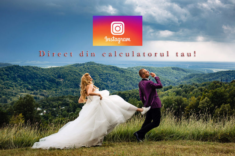 Fotografii pe Instagram direct din calculator